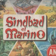 Coleccionismo Álbum: SIMBAD EL MARINO.ALBUM Nº 1. DESAYUNO ANA. 1956. COMPLETO.DA. Lote 122175687