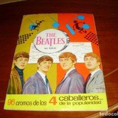 Coleccionismo Álbum: ALBUM COMPLETO CROMOS THE BEATLES 1966 PURO VINTAGE . Lote 122182835