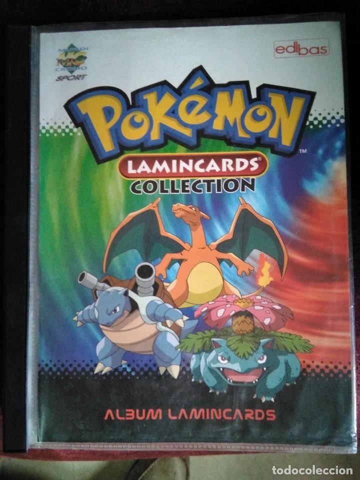 ALBUM COMPLETO DE POKEMON LAMINCARDS 2005 (Coleccionismo - Cromos y Álbumes - Álbumes Completos)