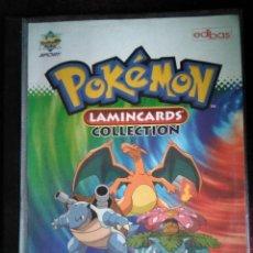 Coleccionismo Álbum: ALBUM COMPLETO DE POKEMON LAMINCARDS 2005. Lote 144262580