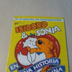 Coleccionismo Álbum: ÁLBUM DE CROMOS ISIDORO & SONIA, EDICIONES ASTON, AÑO 1988 - COMPLETO -. Lote 122372115