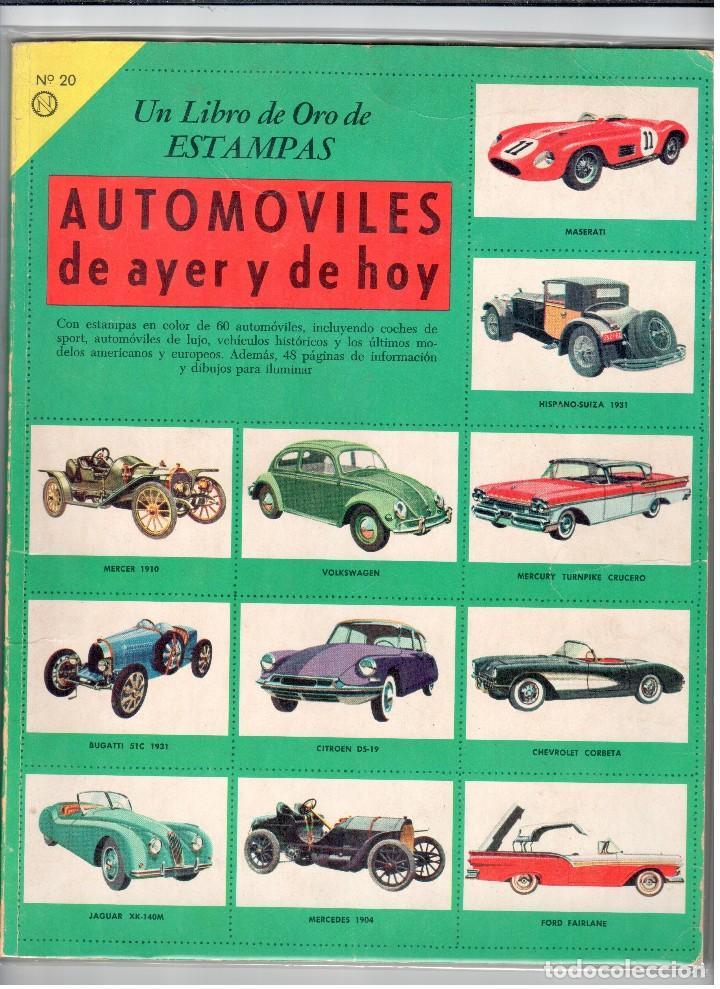 automóviles de ayer y de hoy. un libro de oro d - Comprar Álbumes ...