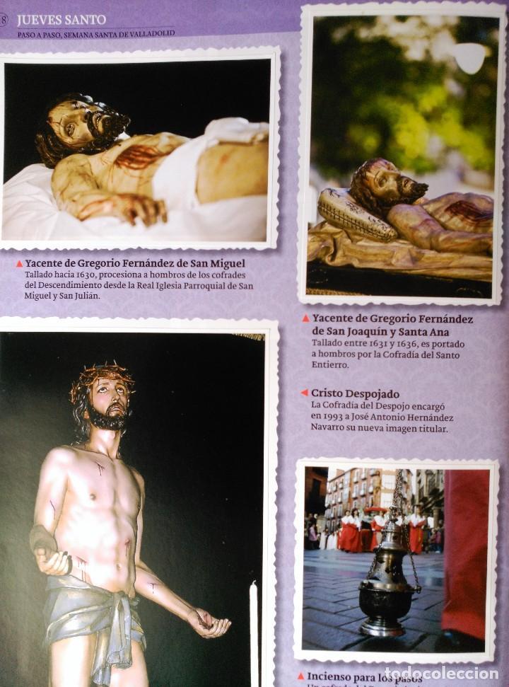 ALBUM DE LA SEMANA SANTA DE VALLADOLID PASO A PASO - EXCELENTE - COMPLETO - VER FOTOGRAFIAS NUEVO (Coleccionismo - Cromos y Álbumes - Álbumes Completos)