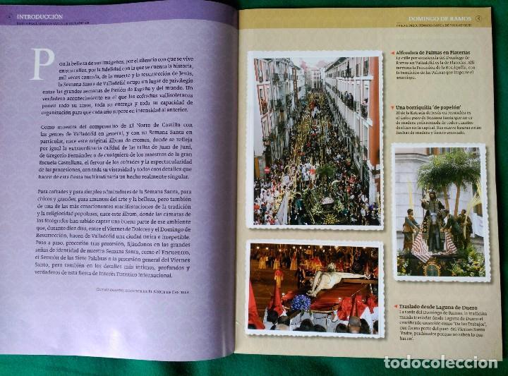 Coleccionismo Álbum: ALBUM DE LA SEMANA SANTA DE VALLADOLID PASO A PASO - EXCELENTE - COMPLETO - VER FOTOGRAFIAS NUEVO - Foto 4 - 122949123