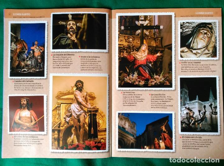 Coleccionismo Álbum: ALBUM DE LA SEMANA SANTA DE VALLADOLID PASO A PASO - EXCELENTE - COMPLETO - VER FOTOGRAFIAS NUEVO - Foto 5 - 122949123
