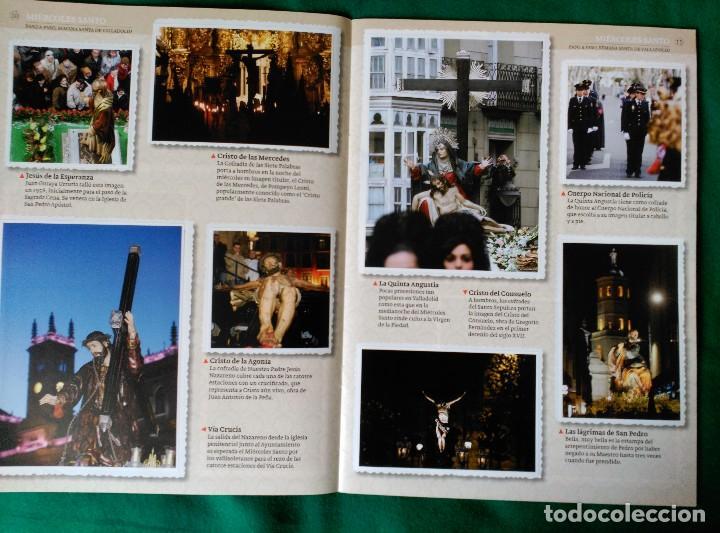 Coleccionismo Álbum: ALBUM DE LA SEMANA SANTA DE VALLADOLID PASO A PASO - EXCELENTE - COMPLETO - VER FOTOGRAFIAS NUEVO - Foto 7 - 122949123