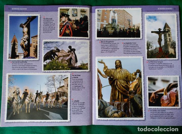 Coleccionismo Álbum: ALBUM DE LA SEMANA SANTA DE VALLADOLID PASO A PASO - EXCELENTE - COMPLETO - VER FOTOGRAFIAS NUEVO - Foto 9 - 122949123