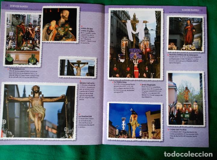 Coleccionismo Álbum: ALBUM DE LA SEMANA SANTA DE VALLADOLID PASO A PASO - EXCELENTE - COMPLETO - VER FOTOGRAFIAS NUEVO - Foto 10 - 122949123