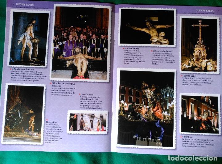 Coleccionismo Álbum: ALBUM DE LA SEMANA SANTA DE VALLADOLID PASO A PASO - EXCELENTE - COMPLETO - VER FOTOGRAFIAS NUEVO - Foto 11 - 122949123