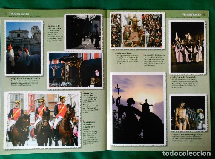 Coleccionismo Álbum: ALBUM DE LA SEMANA SANTA DE VALLADOLID PASO A PASO - EXCELENTE - COMPLETO - VER FOTOGRAFIAS NUEVO - Foto 13 - 122949123