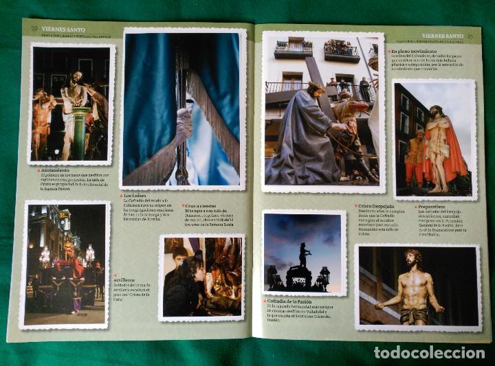 Coleccionismo Álbum: ALBUM DE LA SEMANA SANTA DE VALLADOLID PASO A PASO - EXCELENTE - COMPLETO - VER FOTOGRAFIAS NUEVO - Foto 14 - 122949123