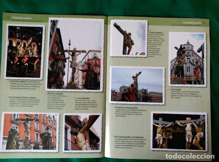 Coleccionismo Álbum: ALBUM DE LA SEMANA SANTA DE VALLADOLID PASO A PASO - EXCELENTE - COMPLETO - VER FOTOGRAFIAS NUEVO - Foto 15 - 122949123
