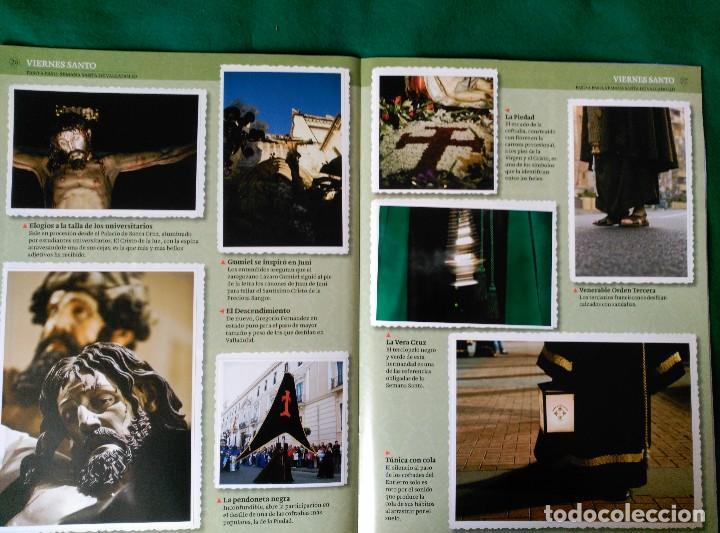 Coleccionismo Álbum: ALBUM DE LA SEMANA SANTA DE VALLADOLID PASO A PASO - EXCELENTE - COMPLETO - VER FOTOGRAFIAS NUEVO - Foto 16 - 122949123