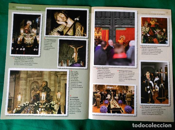 Coleccionismo Álbum: ALBUM DE LA SEMANA SANTA DE VALLADOLID PASO A PASO - EXCELENTE - COMPLETO - VER FOTOGRAFIAS NUEVO - Foto 17 - 122949123