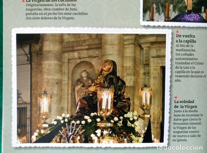 Coleccionismo Álbum: ALBUM DE LA SEMANA SANTA DE VALLADOLID PASO A PASO - EXCELENTE - COMPLETO - VER FOTOGRAFIAS NUEVO - Foto 18 - 122949123