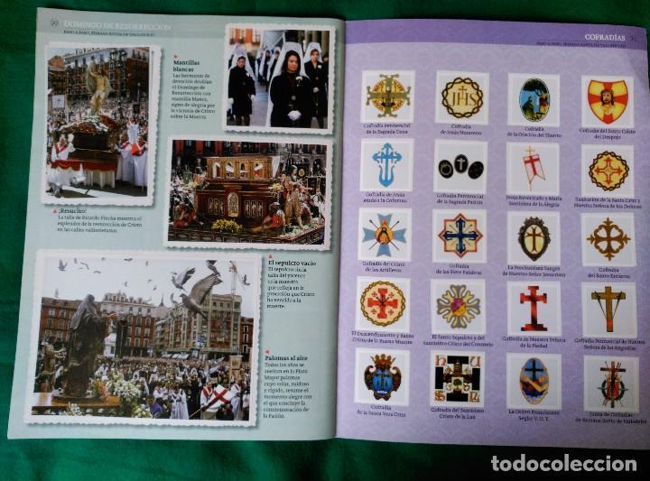 Coleccionismo Álbum: ALBUM DE LA SEMANA SANTA DE VALLADOLID PASO A PASO - EXCELENTE - COMPLETO - VER FOTOGRAFIAS NUEVO - Foto 19 - 122949123