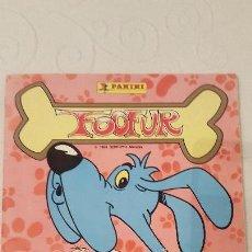 Coleccionismo Álbum: FOOFUR, EDITORIAL PANINI, 1988, ALBUM DE CROMOS COMPLETO, EN PERFECTO ESTADO.. Lote 122967779