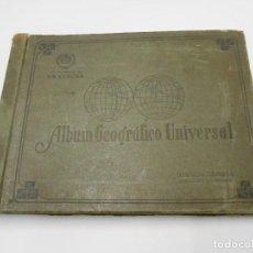 Coleccionismo Álbum: ALBUM GEOGRAFICO UNIVERSAL-CIGARROS LA CORONA 1936-TABACALERA CUBANA - COMPLETO. Lote 123001079