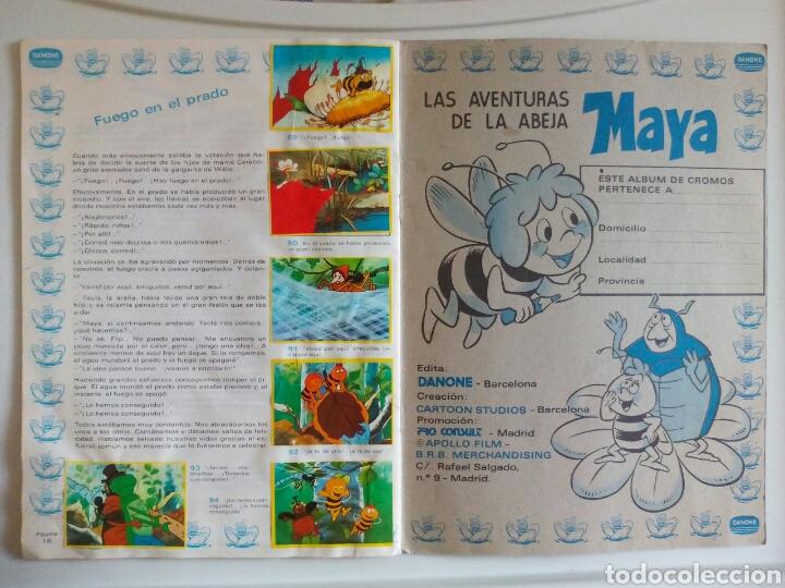 Coleccionismo Álbum: ÁLBUM COMPLETO LA ABEJA MAYA DANONE 1977 - Foto 7 - 123041536