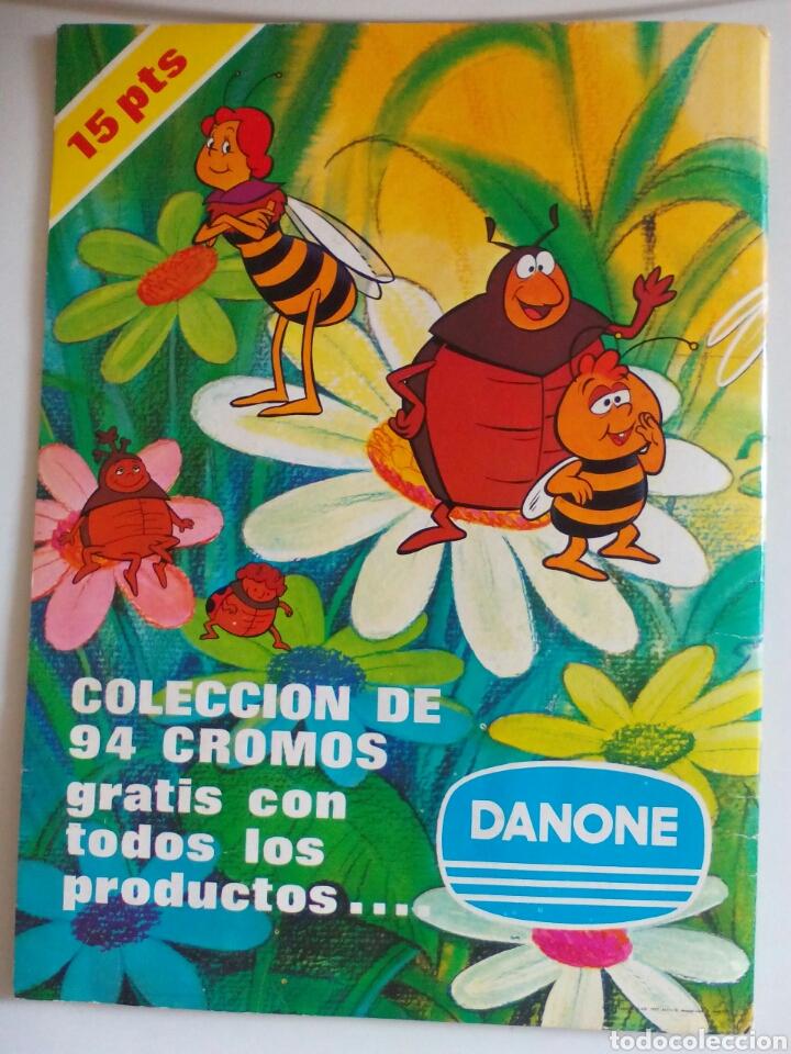Coleccionismo Álbum: ÁLBUM COMPLETO LA ABEJA MAYA DANONE 1977 - Foto 8 - 123041536