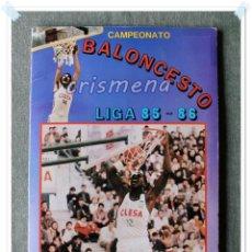 Coleccionismo Álbum: ÁLBUM CAMPEONATO BALONCESTO LIGA 85-86 ED. MERCHANTE 1985 VER ESTADO FOTOS ANUNCIO. Lote 195486341