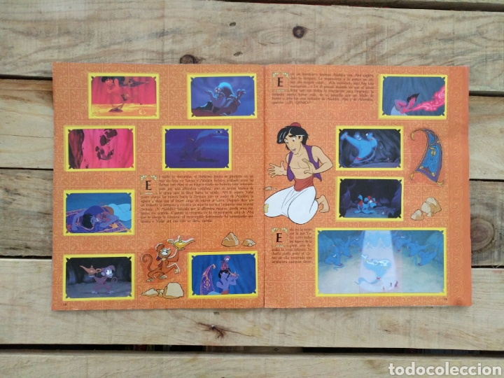 Coleccionismo Álbum: Album Aladín Disney - Panini - Foto 2 - 123221454