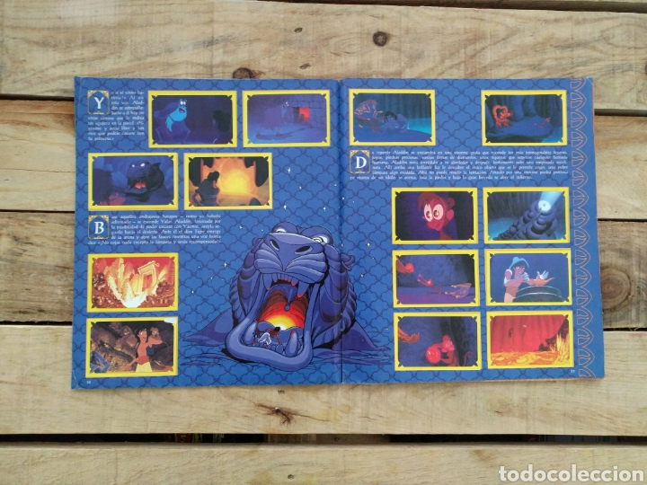 Coleccionismo Álbum: Album Aladín Disney - Panini - Foto 3 - 123221454