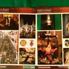 Coleccionismo Álbum: ALBUM DE LA SEMANA SANTA DE VALLADOLID PASO A PASO - EXCELENTE - COMPLETO - NUEVO - CROMOS SIN PEGAR. Lote 123307135