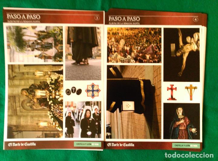 Coleccionismo Álbum: ALBUM DE LA SEMANA SANTA DE VALLADOLID PASO A PASO - EXCELENTE - COMPLETO - NUEVO - CROMOS SIN PEGAR - Foto 3 - 123307135