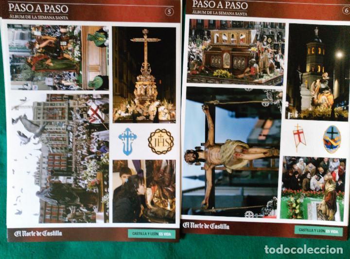 Coleccionismo Álbum: ALBUM DE LA SEMANA SANTA DE VALLADOLID PASO A PASO - EXCELENTE - COMPLETO - NUEVO - CROMOS SIN PEGAR - Foto 4 - 123307135