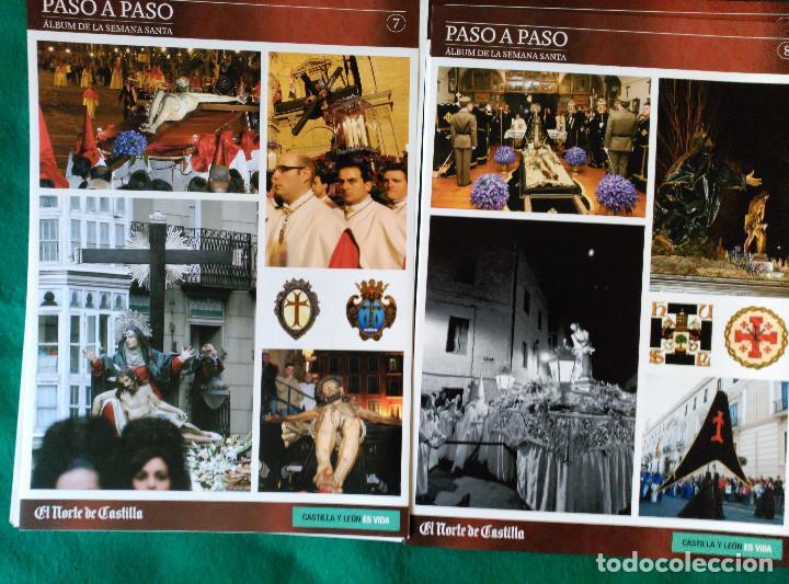 Coleccionismo Álbum: ALBUM DE LA SEMANA SANTA DE VALLADOLID PASO A PASO - EXCELENTE - COMPLETO - NUEVO - CROMOS SIN PEGAR - Foto 5 - 123307135