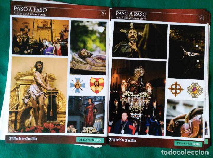 Coleccionismo Álbum: ALBUM DE LA SEMANA SANTA DE VALLADOLID PASO A PASO - EXCELENTE - COMPLETO - NUEVO - CROMOS SIN PEGAR - Foto 6 - 123307135