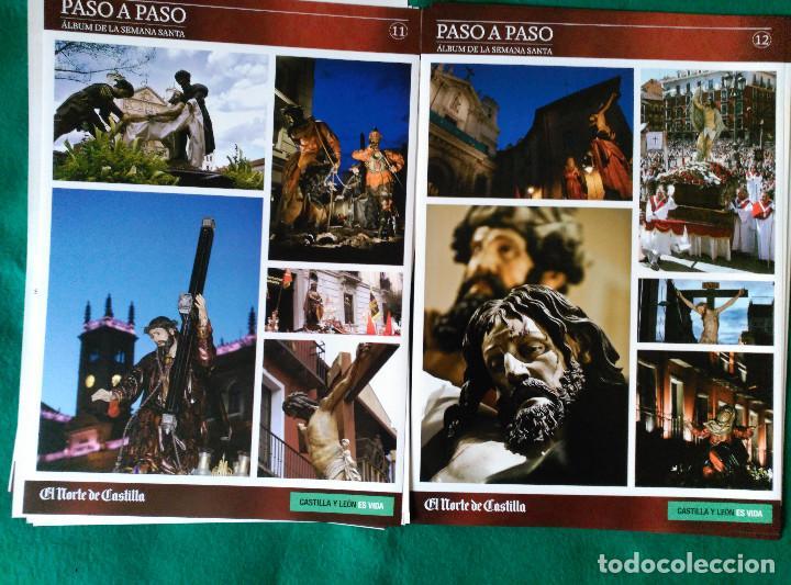 Coleccionismo Álbum: ALBUM DE LA SEMANA SANTA DE VALLADOLID PASO A PASO - EXCELENTE - COMPLETO - NUEVO - CROMOS SIN PEGAR - Foto 7 - 123307135