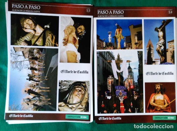 Coleccionismo Álbum: ALBUM DE LA SEMANA SANTA DE VALLADOLID PASO A PASO - EXCELENTE - COMPLETO - NUEVO - CROMOS SIN PEGAR - Foto 8 - 123307135