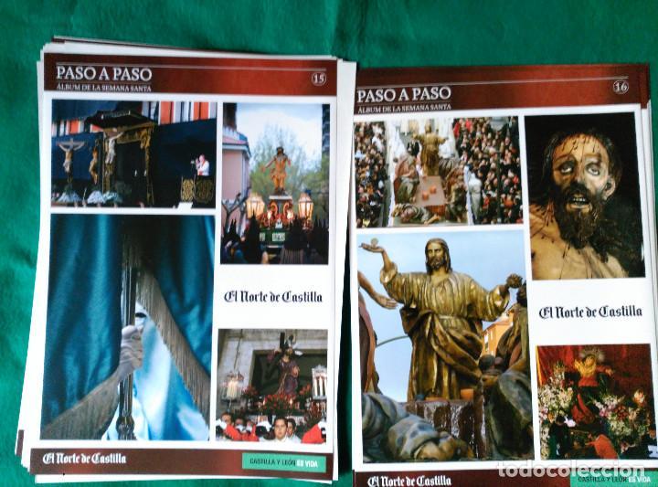 Coleccionismo Álbum: ALBUM DE LA SEMANA SANTA DE VALLADOLID PASO A PASO - EXCELENTE - COMPLETO - NUEVO - CROMOS SIN PEGAR - Foto 9 - 123307135