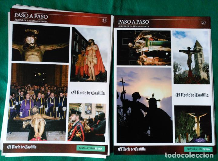 Coleccionismo Álbum: ALBUM DE LA SEMANA SANTA DE VALLADOLID PASO A PASO - EXCELENTE - COMPLETO - NUEVO - CROMOS SIN PEGAR - Foto 11 - 123307135