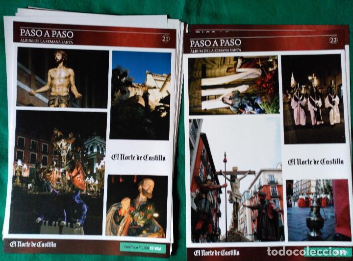 Coleccionismo Álbum: ALBUM DE LA SEMANA SANTA DE VALLADOLID PASO A PASO - EXCELENTE - COMPLETO - NUEVO - CROMOS SIN PEGAR - Foto 12 - 123307135
