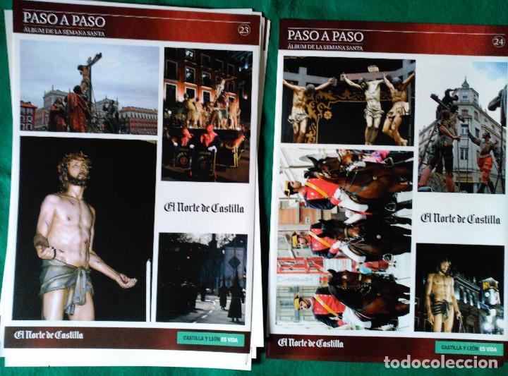 Coleccionismo Álbum: ALBUM DE LA SEMANA SANTA DE VALLADOLID PASO A PASO - EXCELENTE - COMPLETO - NUEVO - CROMOS SIN PEGAR - Foto 13 - 123307135