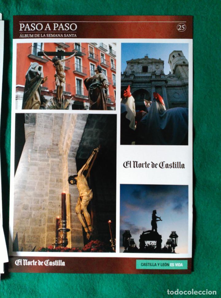 Coleccionismo Álbum: ALBUM DE LA SEMANA SANTA DE VALLADOLID PASO A PASO - EXCELENTE - COMPLETO - NUEVO - CROMOS SIN PEGAR - Foto 14 - 123307135