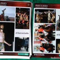 Coleccionismo Álbum: ALBUM DE LA SEMANA SANTA DE VALLADOLID PASO A PASO - EXCELENTE - COMPLETO - NUEVO - CROMOS SIN PEGAR. Lote 123308099