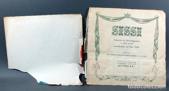 Coleccionismo Álbum: Sissi Editorial Bruguera álbum completo película Romy Schneider 1957 - Foto 2 - 123349407