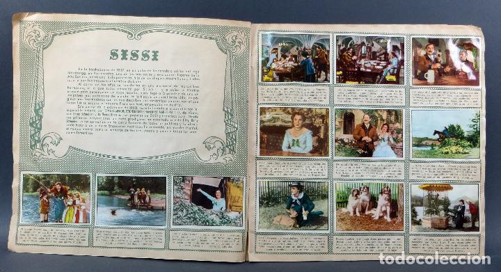 Coleccionismo Álbum: Sissi Editorial Bruguera álbum completo película Romy Schneider 1957 - Foto 3 - 123349407