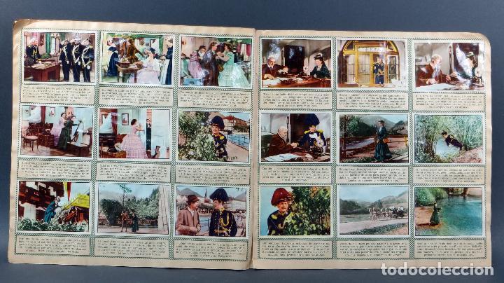 Coleccionismo Álbum: Sissi Editorial Bruguera álbum completo película Romy Schneider 1957 - Foto 4 - 123349407
