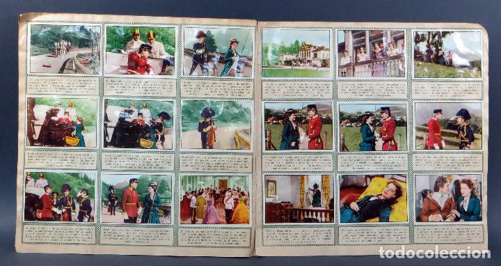 Coleccionismo Álbum: Sissi Editorial Bruguera álbum completo película Romy Schneider 1957 - Foto 5 - 123349407