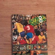 Coleccionismo Álbum: ALBUM DE CROMOS - FUTBOL EN ACCION - DANONE 82 - COMPLETO.. Lote 123812611