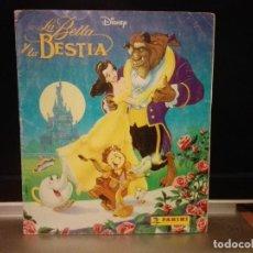 Coleccionismo Álbum: LA BELLA Y LA BESTIA DISNEY ALBUM CROMOS COMPLETO PANINI.. Lote 123903339