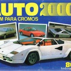 Coleccionismo Álbum: ÁLBUM CROMOS AUTO 2000 (COMPLETO). Lote 124191715