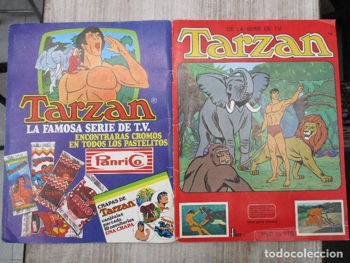 Coleccionismo Álbum: ALBUM CROMOS COMPLETO ORIGINAL TARZAN SERIE DE TV FHER / PANRICO - Foto 4 - 124535555