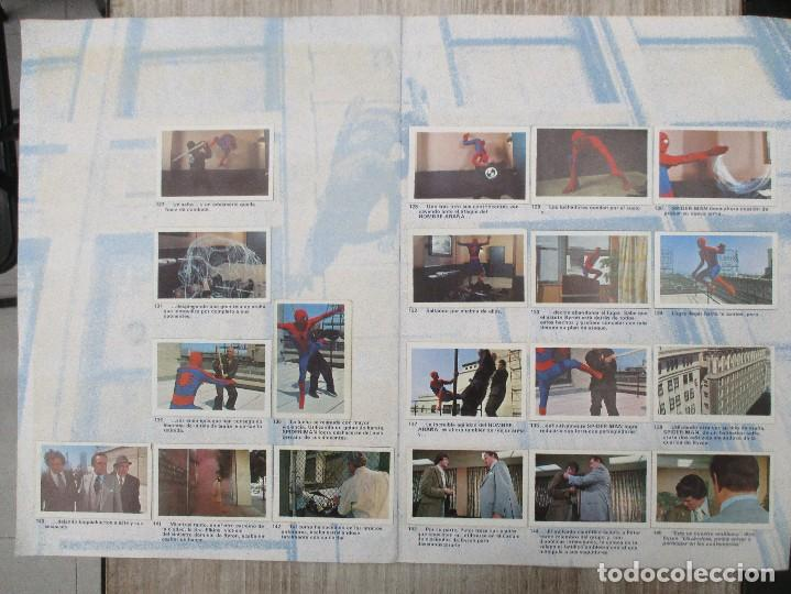 Collectable Albums: ALBUM CROMOS COMPLETO ORIGINAL SPIDERMAN EL HOMBRE ARAÑA - Foto 2 - 124535715
