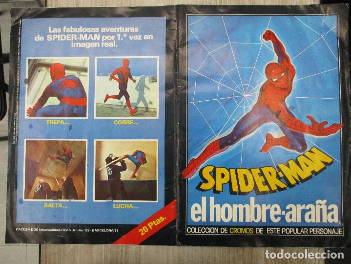 Collectable Albums: ALBUM CROMOS COMPLETO ORIGINAL SPIDERMAN EL HOMBRE ARAÑA - Foto 3 - 124535715